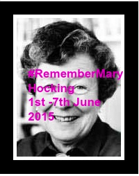 #Remember Mary Hocking